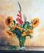 65-sonnenblumen-und-gladiole-in-glasvase-2006